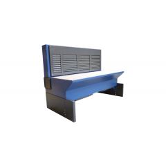 Inkl.bagvæg, ventilator og filter m/manuel roto-rens