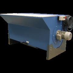 Inkl. ventilator og filter m/manuel roto-rens
