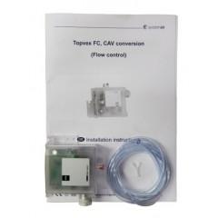 CAV automatik 0-2500Pa