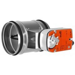 Tune Spjæld m/motor til Topvex